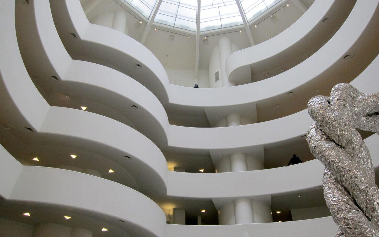 Interior image of the Solomon R. Guggenheim Museum
